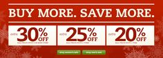 BUY MORE. SAVE MORE. 20% to 30% OFF and many more.  http://yespricer.com/onlineshoes/