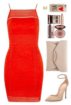 """Sin título #3954"" by mdmsb on Polyvore featuring moda, Topshop, Gianvito Rossi, Givenchy, Charlotte Tilbury, Cartier y Casetify"
