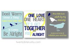 Bob Marley Art Prints Set of Three, You Choose the Colors, Perfect Gift for a Nursery, Baby Shower, or Dorm Art on Etsy, $27.00