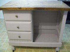 diy kitchen island/bar/craft table