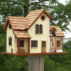 Home Bazaar French Country Home Bird House at BestNest.com