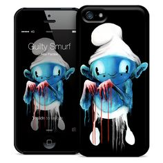 GUILTY SMURF LIMITED EDITION iPHONE HARD CASE : ZeroFriends.com