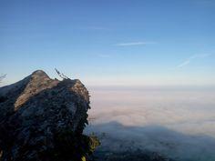 Sea of fog, Republic of San Marino