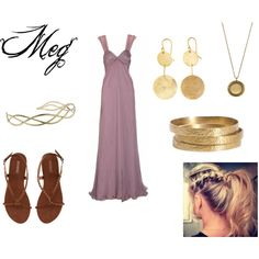 Meg (From Hercules), created by allison-may-switzer on Polyvore