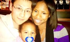 Black women asian men couple