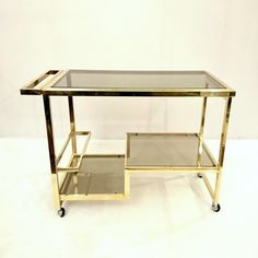 Located using retrostart.com > Serving Trolley by Unknown Designer for Cidue