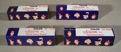 Vintage 1960's JETSONS Color T.V. Set Viewer TV FILMS + Boxes Lot by Superjunk5000 on Etsy