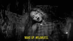 """And when she asks you how you woke up, you say """"flawless,"""" even though you really woke up looking like a bridge troll."""
