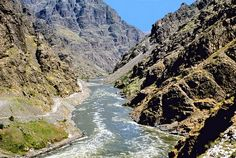 Hells Canyon, Oregon  -deepest natural gorge in the U.S.