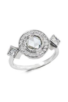 In This Gallery, Some of the Most Memorable, Yet Sleek, Modern Rings: A Just Jules Rose-cut Diamond Design