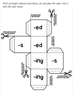 23 best Inflectional Endings images on Pinterest