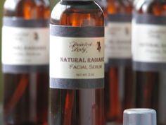 Natural Radiance Facial Serum. $6.00, via Etsy.