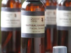 Natural Radiance Facial Serum. $6.00, via Etsy.