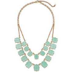 BaubleBar Double Chiclet Strand