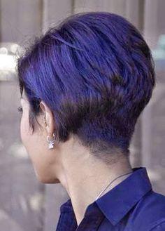 Back View Of Short Hair Cute 2014