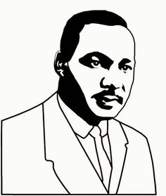 Martin Luther King Jr Coloring Page From Usa Printables Free Us Martin Luther King Coloring Pages Free