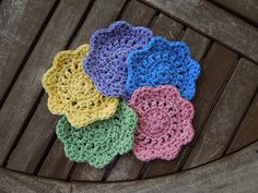 Quick & Easy Crochet Coasters