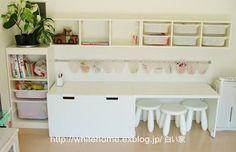 La serie STUVA de Ikea, ese gran descubrimiento!   Blanco y de madera