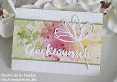 Stampin Up Geburtstagskarte Stempelmami Karte Card Birthday Card Thinlits Gruesse voller Sonnenschein 3