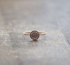 simple gold nontraditional wedding ring