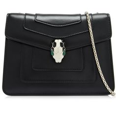 d627b3123b73 Bvlgari Serpenti Forever Flap Cover Mini Shoulder Bag (€2.000) ❤ liked on  Polyvore featuring bags