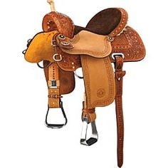 Kelly Kaminski Big Dreams Shining Star Barrel Racing Saddle by Circle Y..