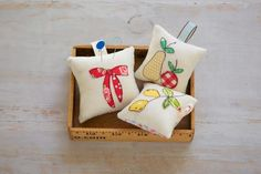 One-of-a-kind Pincushions • WeAllSew • BERNINA USA's blog, WeAllSew, offers fun project ideas, patterns, video tutorials and sewing tips for sewers and crafters of all ages and skill levels.