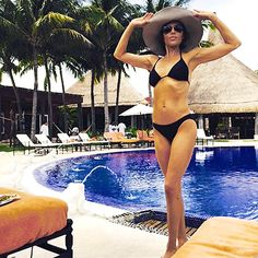The Real Housewives of Beverly Hills star — who looks super-fit at 51 — spent Tuesday, March 31, lounging and tanning on the beaches of Belize.