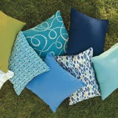 All-weather Outdoor Pillows
