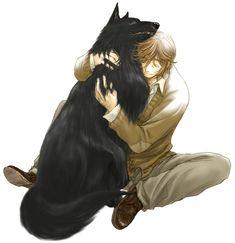 My friend by ~yukipon  Padfoot and Lupin