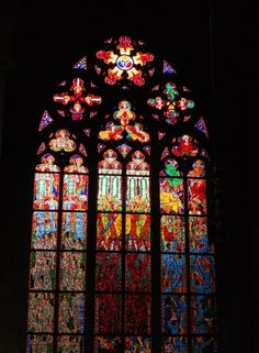 Lashelle Shuman Photography- Stained Glass Cathedral Window