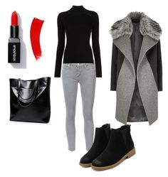"""""""Winter"""" by amelicaa25 ❤ liked on Polyvore featuring Mother, River Island and Misha Nonoo"""
