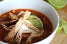 Weeknight Tortilla Soup | Wandering Spice