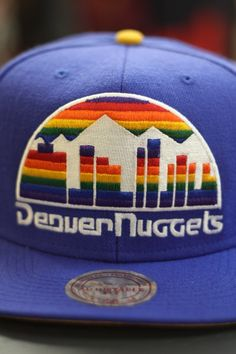 301a238cbcd3b1 MITCHELL   NESS Denver Nuggets Snapback
