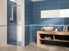 Rivestimento da bagno Blu Cream Full - Ceramiche Supergres