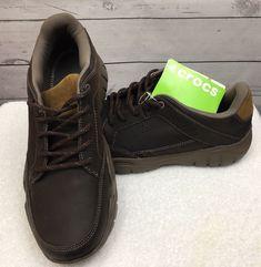 6af1455bc27ee Crocs Mens Swiftwater Hiker Shoe Espresso walnut 10 M US