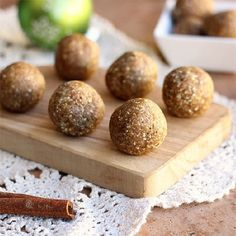 Cinnamon Oatmeal Truffles