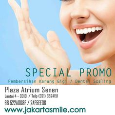 PROMO APRIL 2016  Jakarta Smile - Plaza Atrium Senen Plaza Atrium Senen Lantai 4 #0019 021 3524151 #dentalimplantology #periodontist #perioworld #periodontology #dentist #dentistry #dental #dentalworld #periodontaldisease #periodontics #periodontitis #implantsurgery #dentalimplants #dentalimplantology #dentalimplantsnyc #dentalimplantsurgery #dentalimplant #dentalassistant #dentalhygiene #jakartasmile #dentalsurgery #dentalstudents #success #love #teeth #gums #gumsurgery by thejakartasmile…