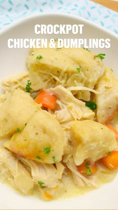 Slow Cooker Huhn, Crock Pot Slow Cooker, Crock Pot Cooking, Slow Cooker Chicken, Slow Cooker Recipes, Crockpot Recipes, Chicken Recipes, Potluck Recipes, Top Recipes