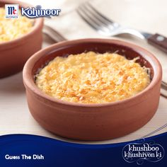 Can you guess this tasty dessert made of rice?  Hint: It can be made with bread or cake too.