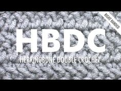Herringbone DC (HBDC) :: Crochet :: New Stitch a Day = this one looks interesting...