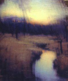 "apoetreflects: ""Painting: John Felsing, Into Twilight, 2003 """