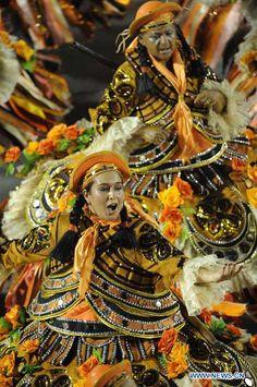 Samba parade in Rio de Janeiro