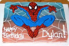SPIDERMAN BIRTHDAY CAKES | spidermancake.jpg