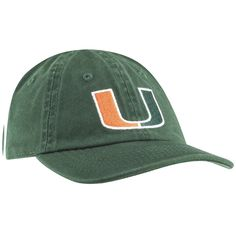 f96391cd754 Miami Hurricanes Top of the World 2018 Infant Mini Me Snapback Green Hat