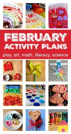 Seasonal activity plans for Valentine's Day – things to do in February