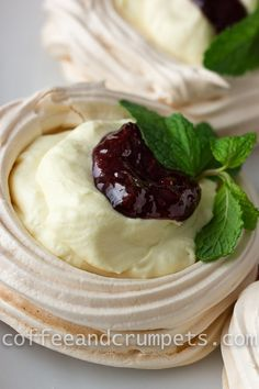 White Chocolate Mousse Meringues-1
