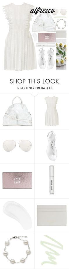 """fresh air"" by foundlostme ❤ liked on Polyvore featuring Marsèll, Linda Farrow, Yves Saint Laurent, Givenchy, Bobbi Brown Cosmetics, Temptu, Common Projects, Dolce&Gabbana and alfrescodining"