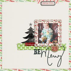 Digital scrapbook layout made with Just Jaimee December Storyteller Scrapbook Page Layouts, Digital Scrapbooking Layouts, Scrapbook Albums, Photo Layouts, Baby Scrapbook, Scrapbook Paper Crafts, Scrapbook Cards, Christmas Scrapbook Pages, Halloween Scrapbook