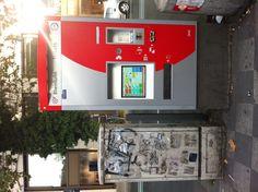 Automaten-Kultur: Fahrkarten-Automat